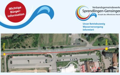 Fahrbahnverengung entlang der L400 bei Gensingen ab 29.05.2017