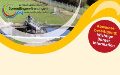Zentralisierung der Abwasserreinigung in der Verbandsgemeinde Sprendlingen-Gensingen