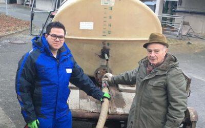 Erste Erfolge beim Bringsystem für Weinbauabwasser