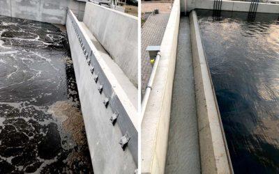 Der neue Abwasserweg wurde in Betrieb genommen
