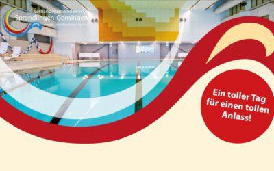Feierliche Wiedereröffnung Hallenbad Gensingen nach Sanierung