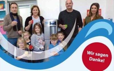 Trinkwasserspender für die Kindertagesstätte Rappelkiste in Aspisheim