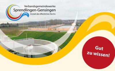 Baubeginn der Abwasserdruckrohrleitung