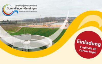 Einladung an alle Bürger*innen: Feierlicher Spatenstich am 30.10.2021 zum 2., 3. und 4. Bauabschnitt der Abwasserreinigungsanlage Nahetal (ARA Nahetal)